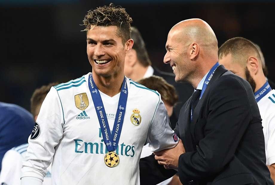 CR7 e Zidane