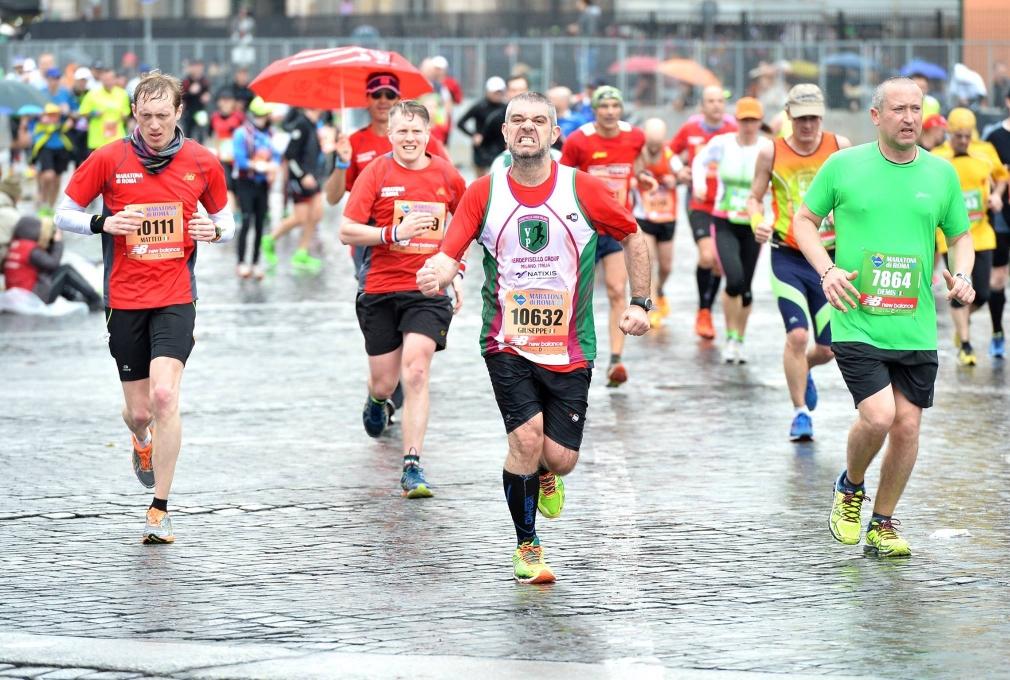 maratona di Roma 2015