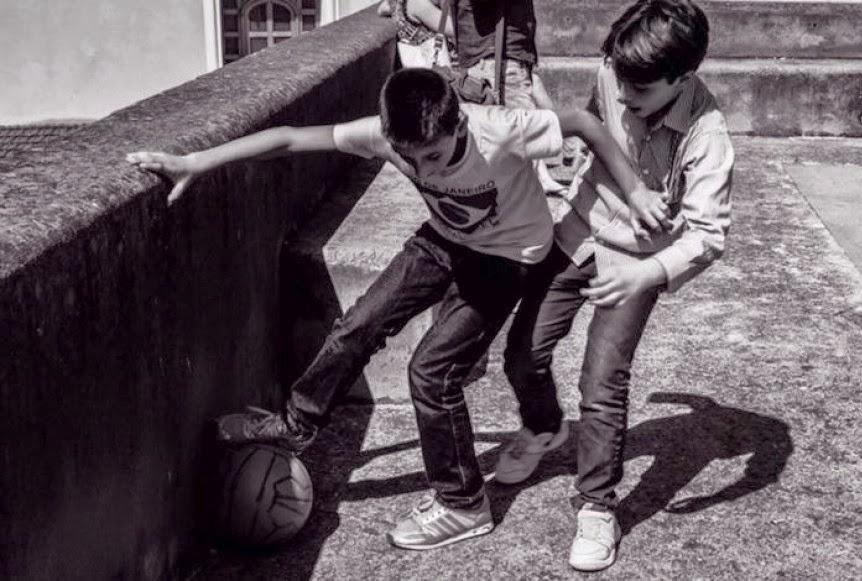 il calcio in strada