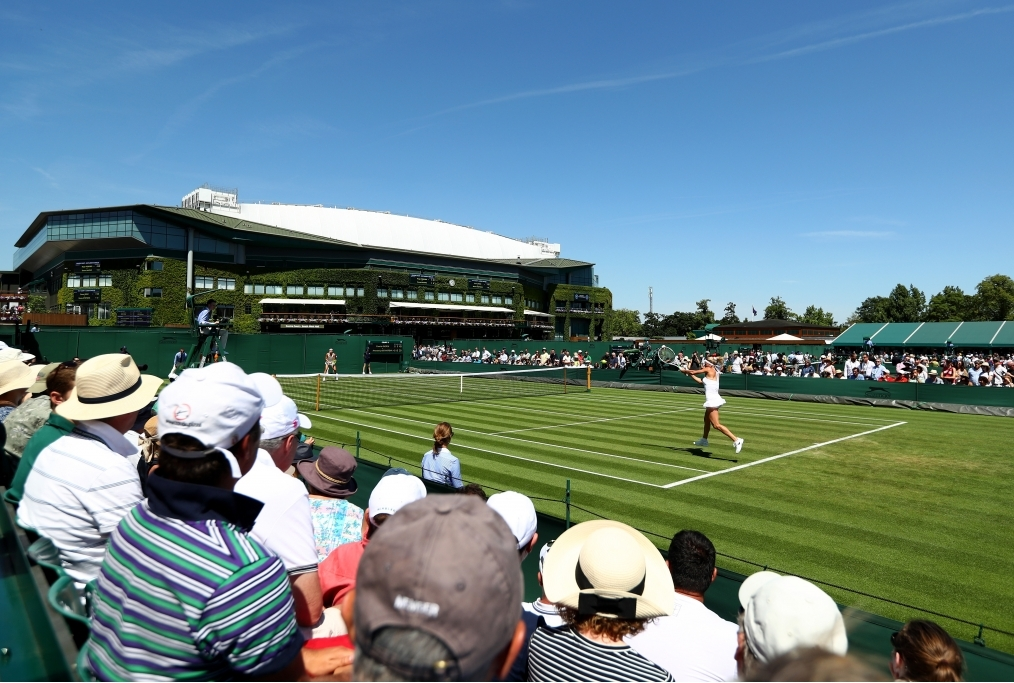 Day One The Championships - Wimbledon 20