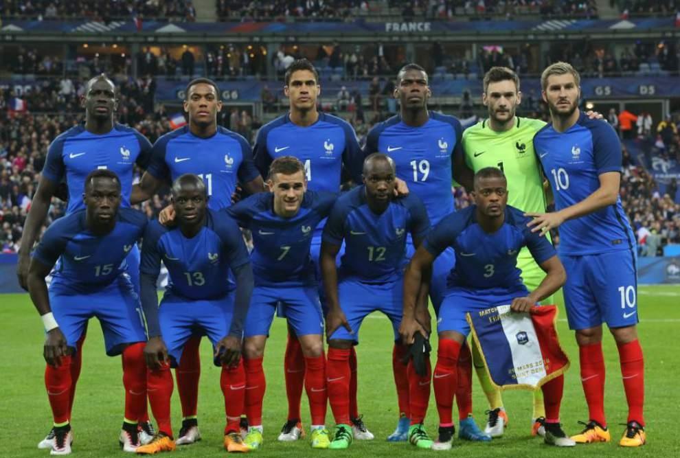 La selezione francese a Euro 2016