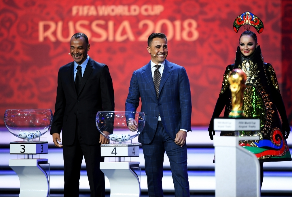 Final Draw for the 2018 FIFA World Cup R