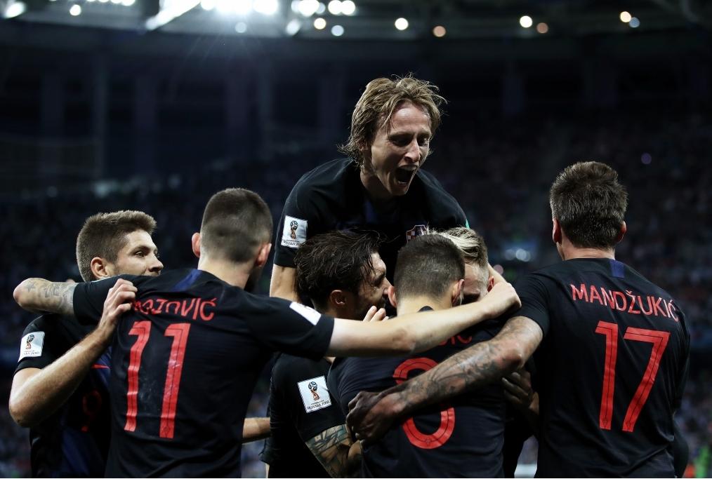Argentina v Croatia Group D - 2018 FIFA