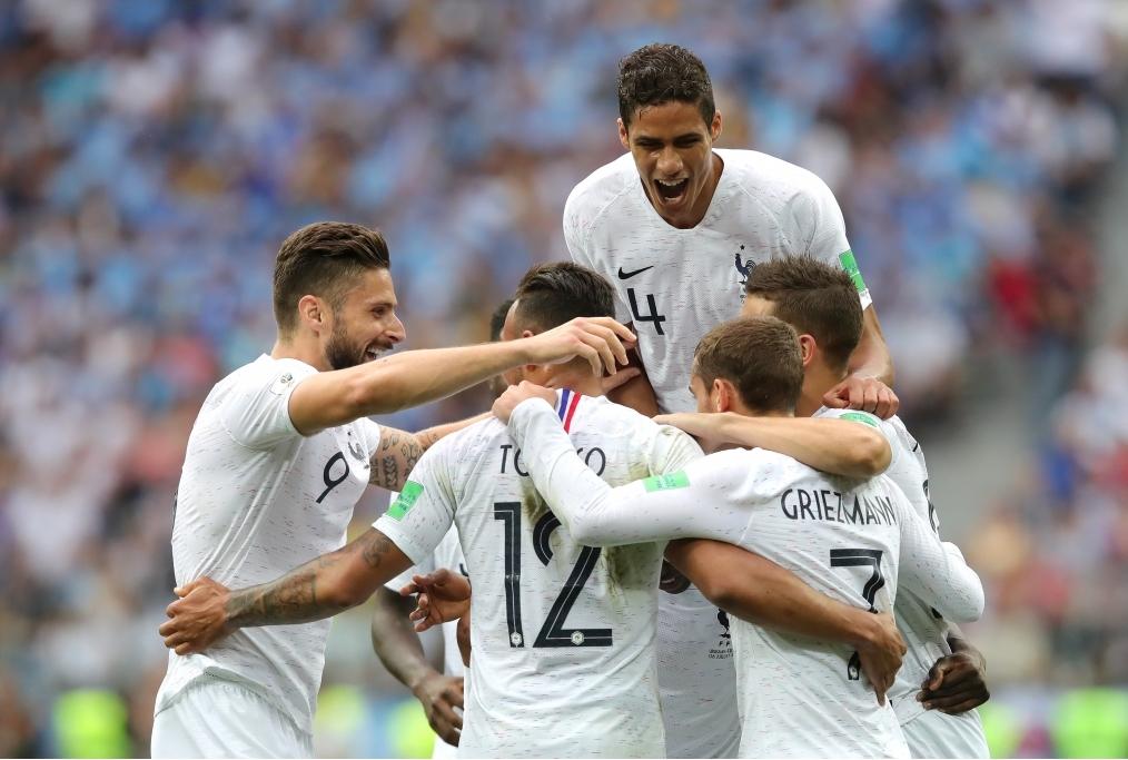 Uruguay v France Quarter Final - 2018 FI