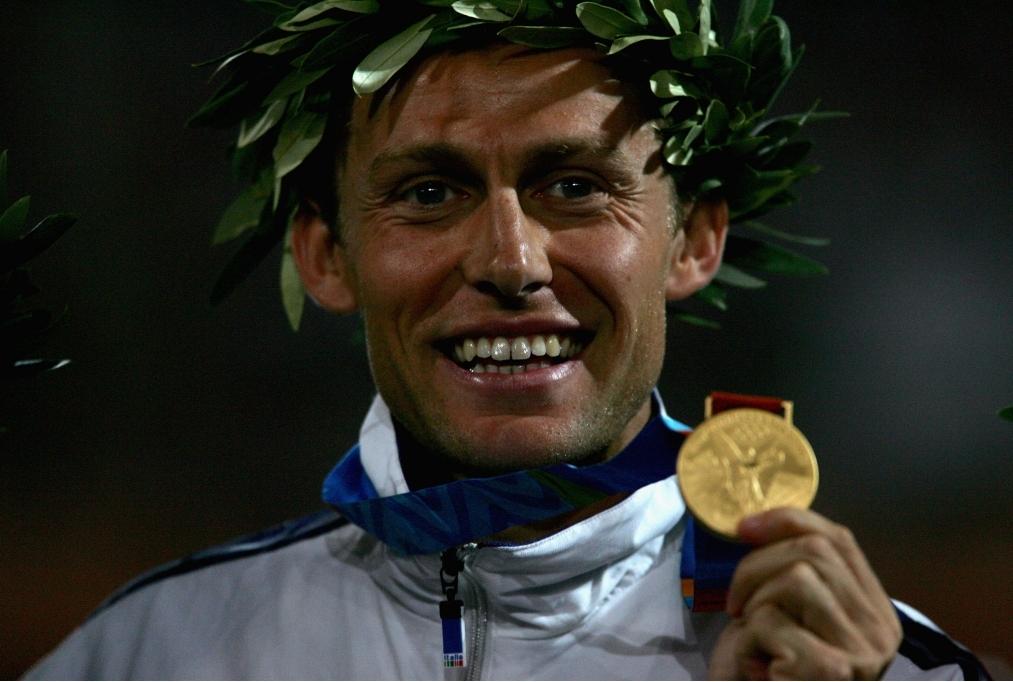 Mens Marathon Medal Ceremony