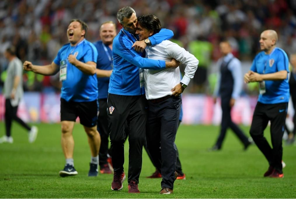 England v Croatia Semi Final - 2018 FIFA