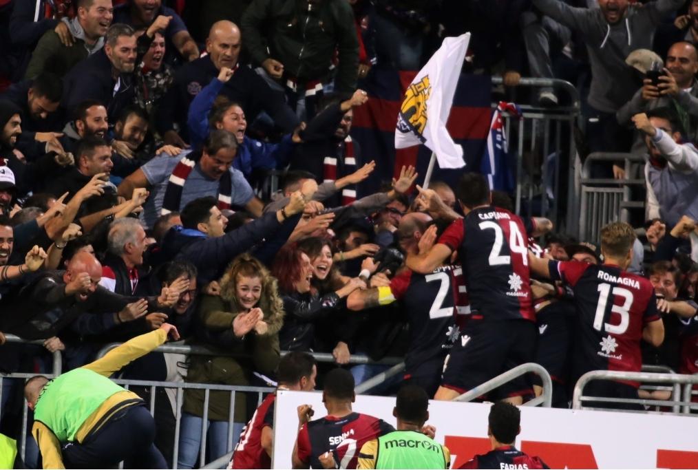 Cagliari Calcio v Benevento Calcio - Ser