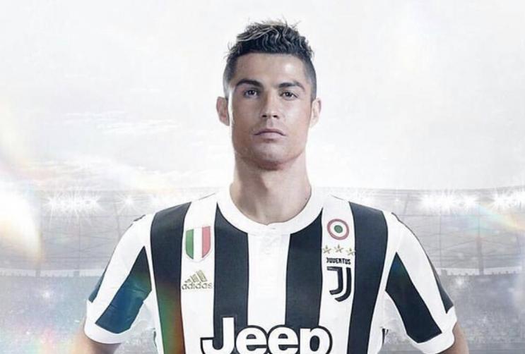 CR7 è della Juventus