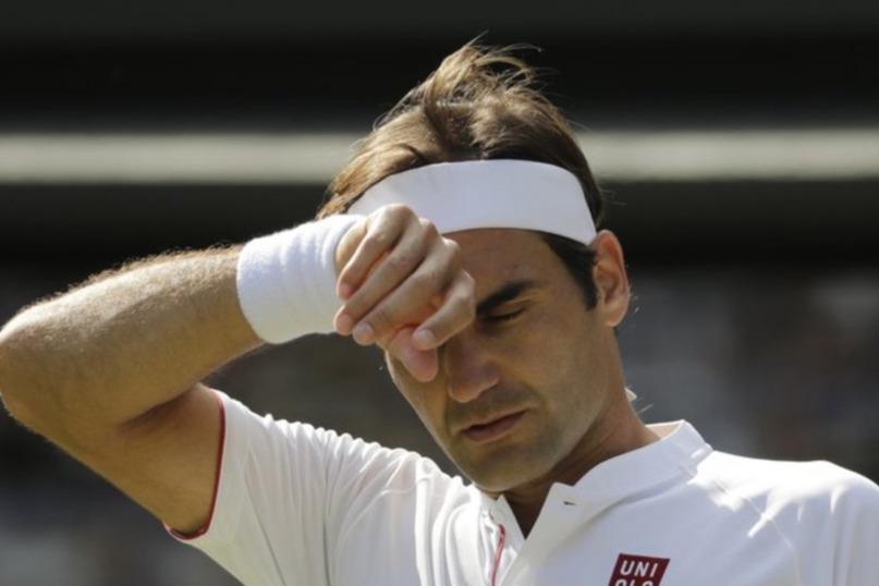 Lo svizzero Roger Federer eliminato ai quarti da Anderson