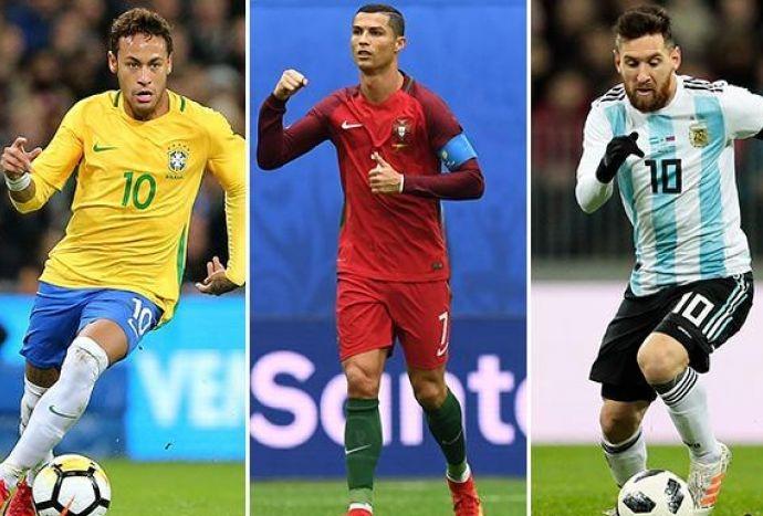 Neymar Ronaldo e Messi nessuno dei tre a