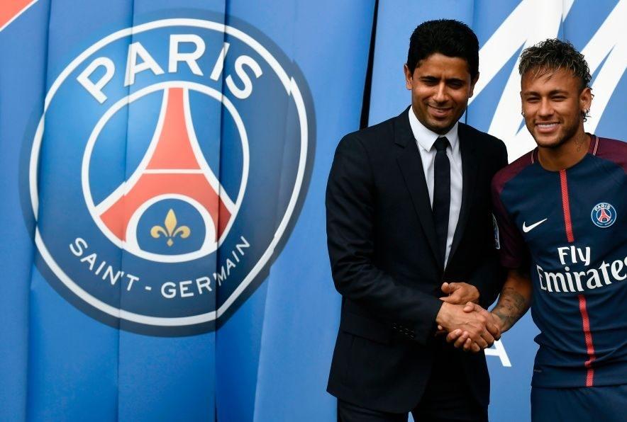 Neymar a Parigi