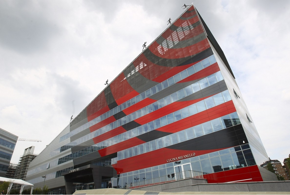 La sede del club rossonero