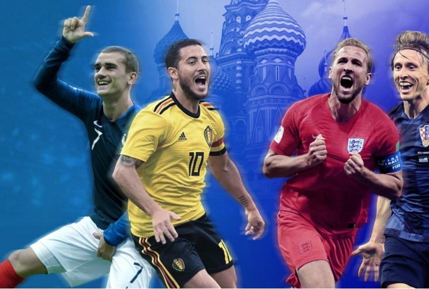 Le 4 semifinaliste di Russia 2018