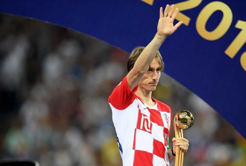 Modric Russia 2018