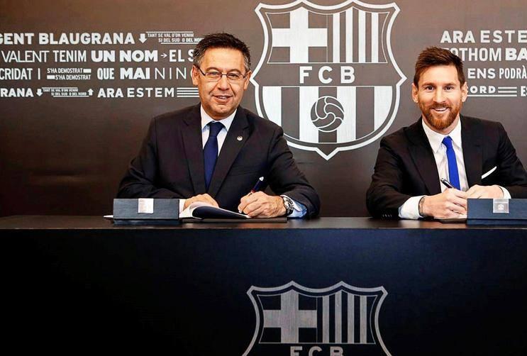 Messi rinnovo