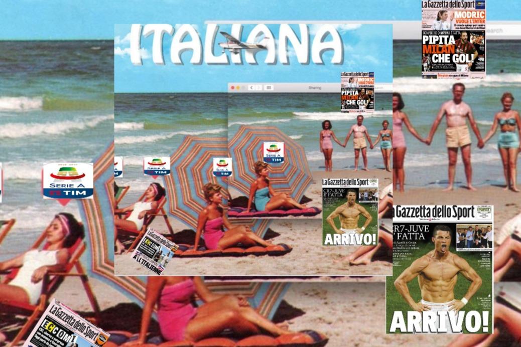 Italieana estate calcio