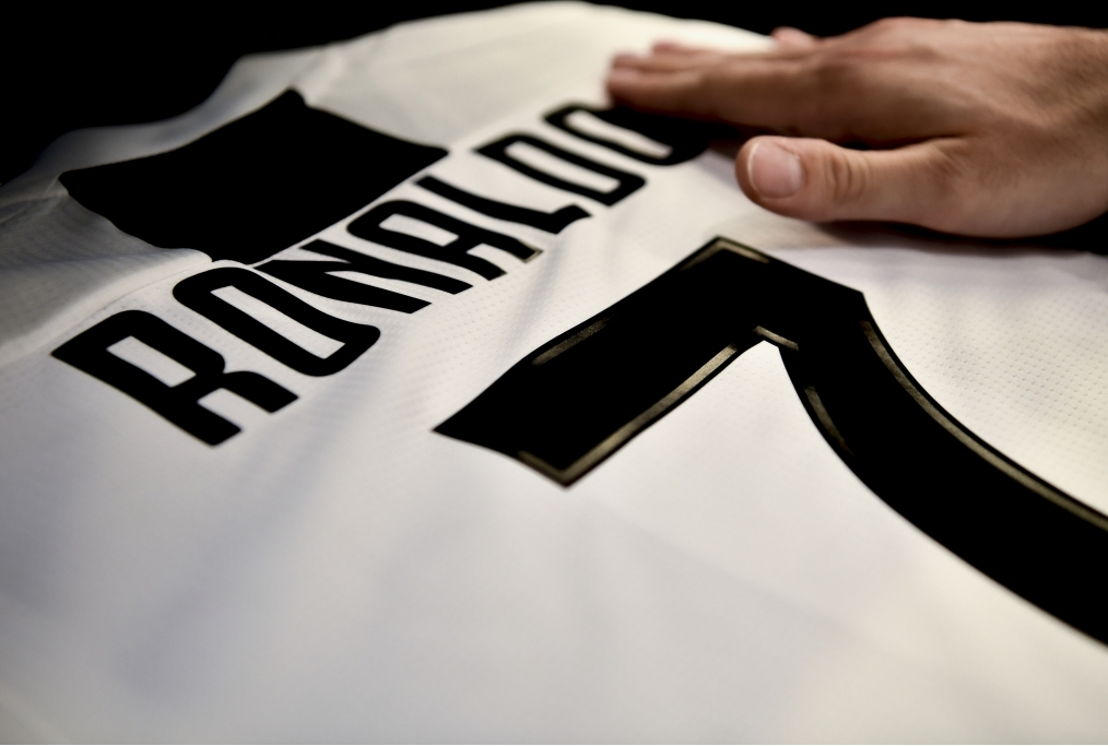 The Shirt Of Juventus New Signing Cristi