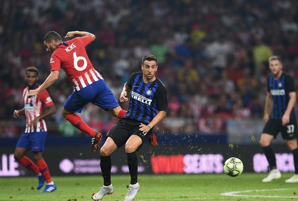 Atletico Madrid v FC Internazionale - In