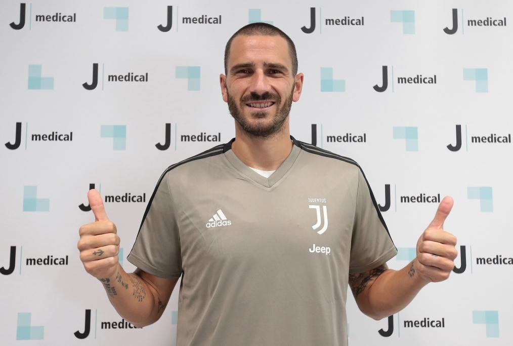 Juventus New Signing Leonardo Bonucci Me
