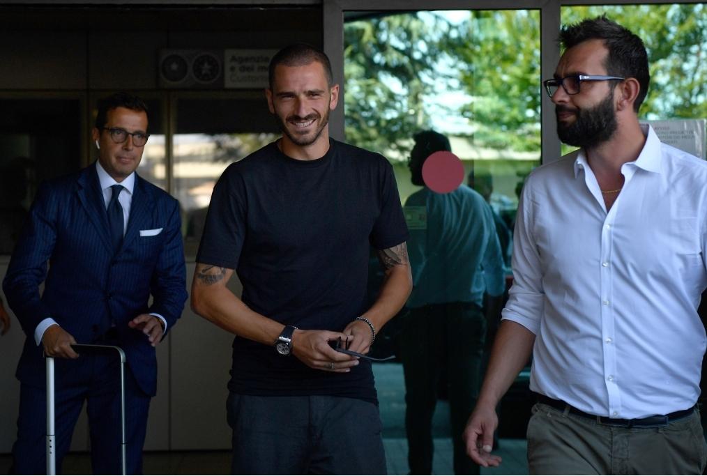 Juventus New Signing Leonardo Bonucci Ar