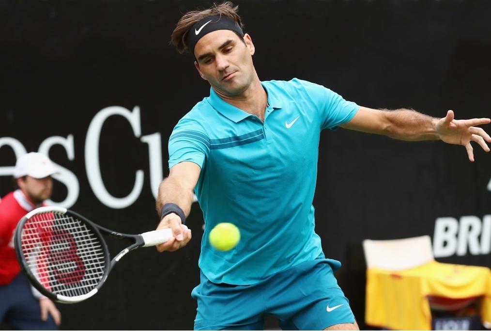 Roger Federer v Mischa Zverev - Mercedes