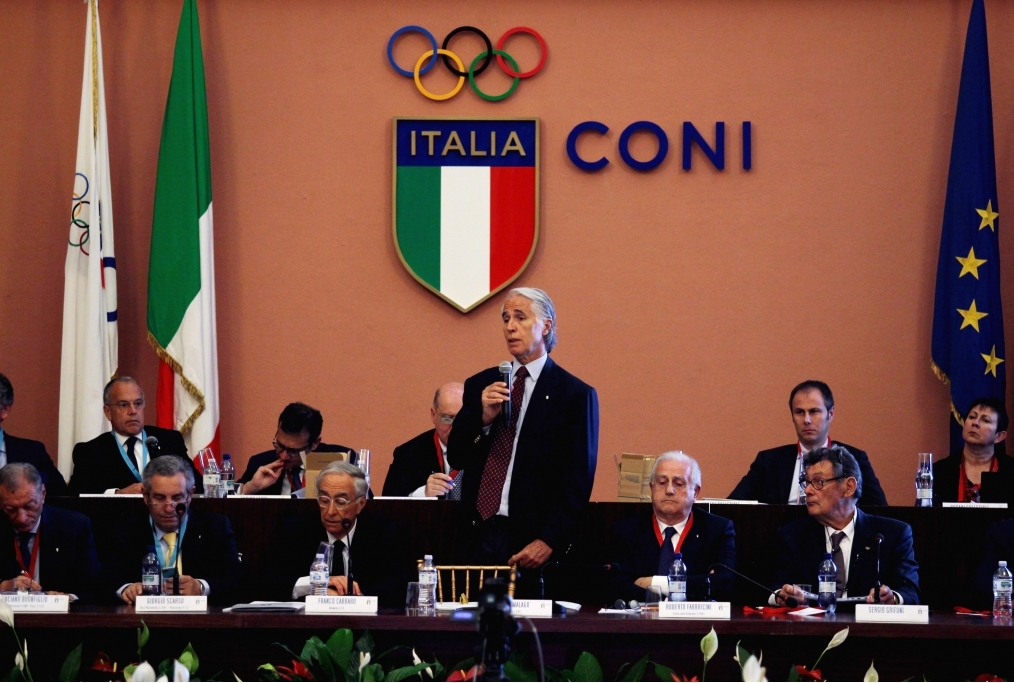 Italian Olympic Committee Presidential E