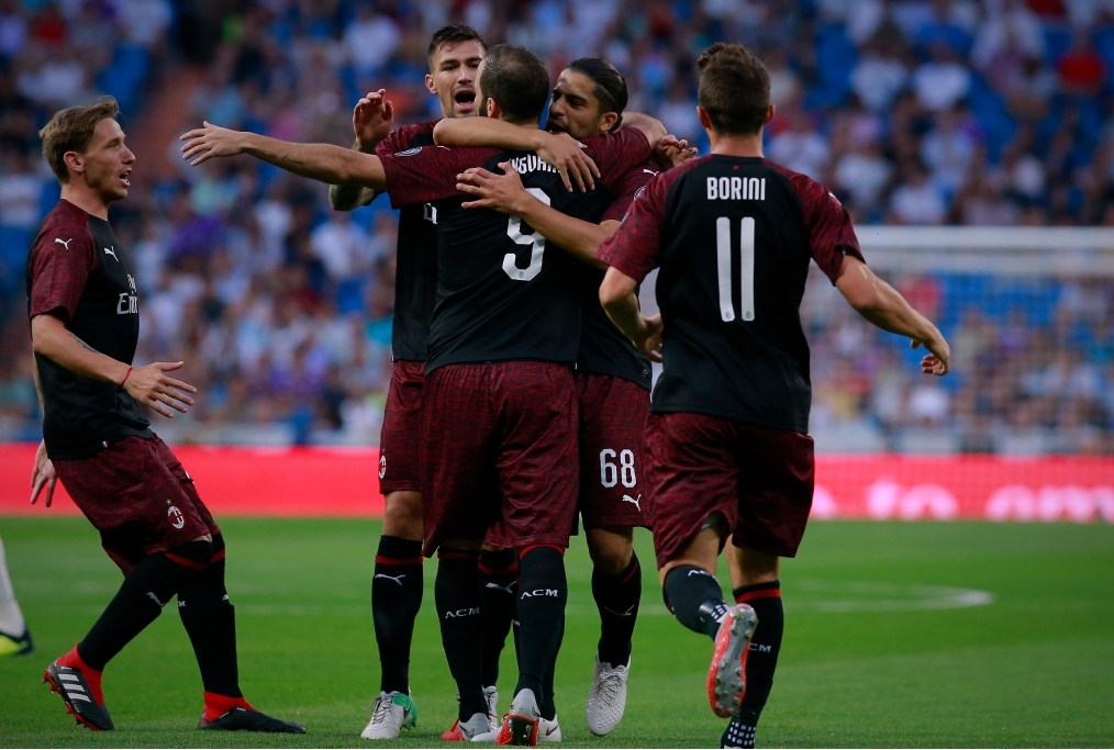 Real Madrid v AC Milan - Pre-Season Frie