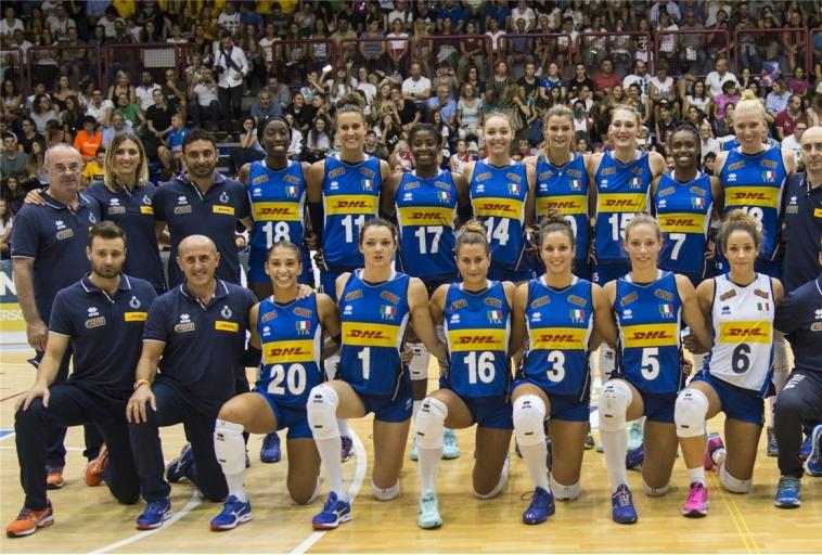 la nazionale italiana femminile - GetIma