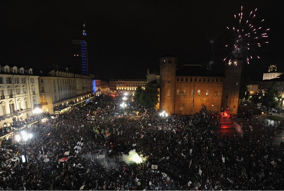 Juventus FC Celebrate Scudetto Win
