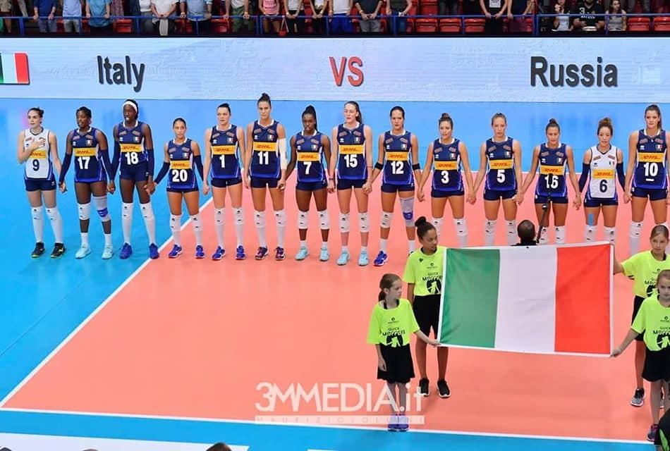La Nazionale italiana alla finale del re