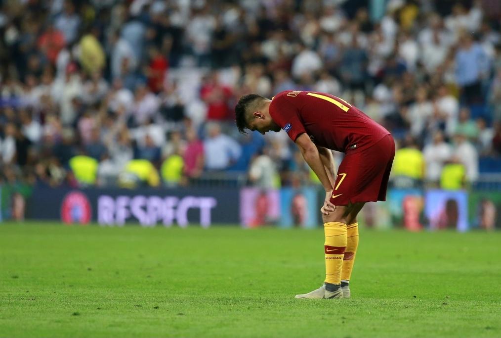 Real Madrid v AS Roma - UEFA Champions