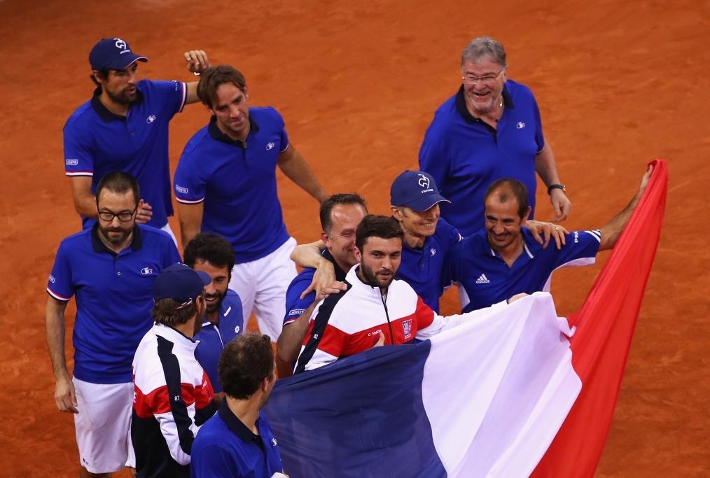 France v Great Britain - Davis Cup World