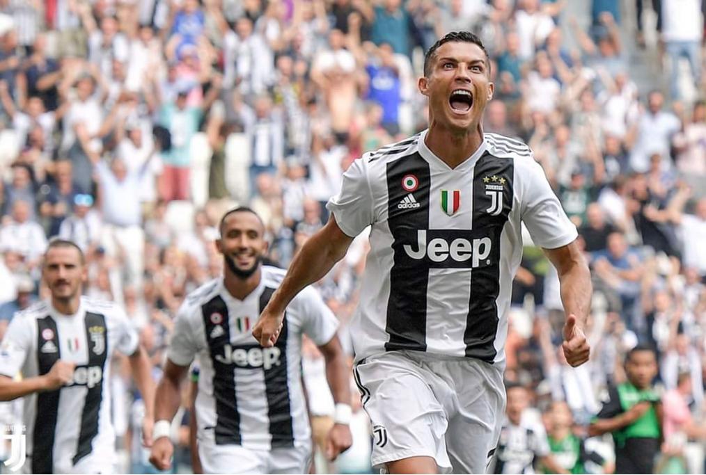 Primo gol di Cristiano