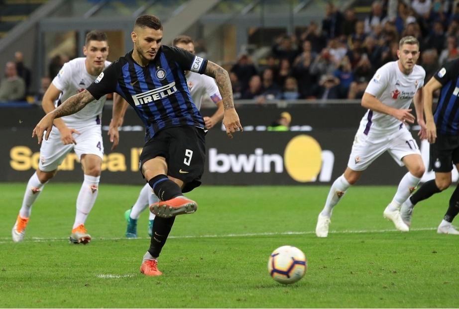 FC Internazionale v ACF Fiorentina - Ser