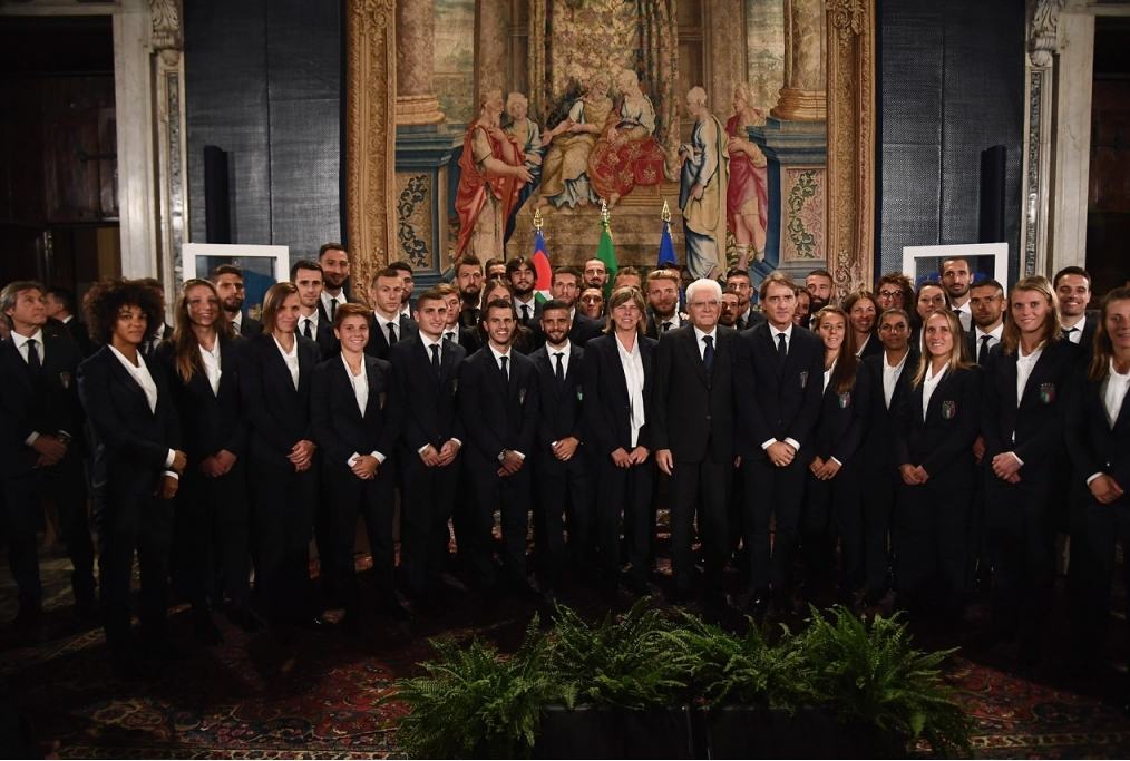 Italy Meets President Sergio Mattarella