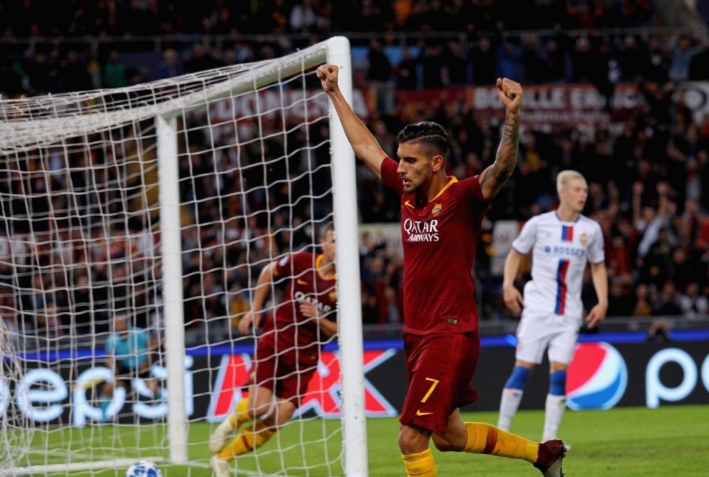 AS Roma v CSKA Moscow - UEFA Champions L