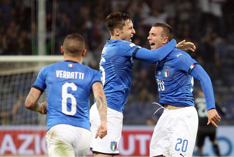 Italia Ucraina 1-1