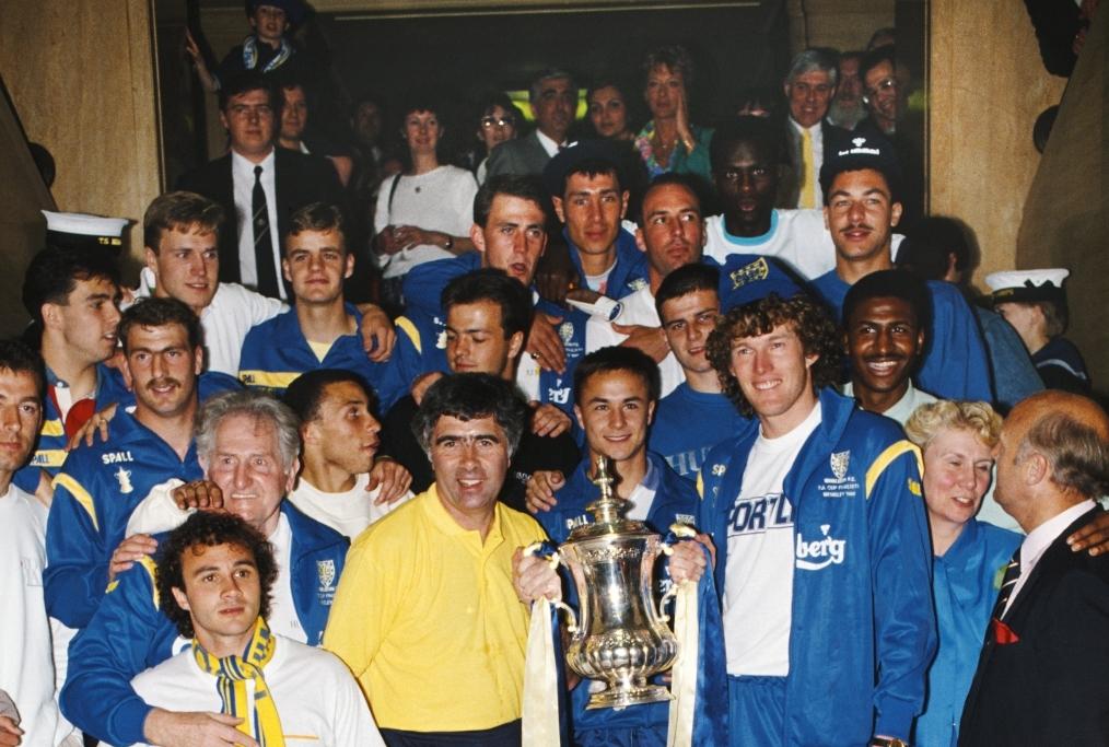 Wimbledon 1988 FA Cup Winners