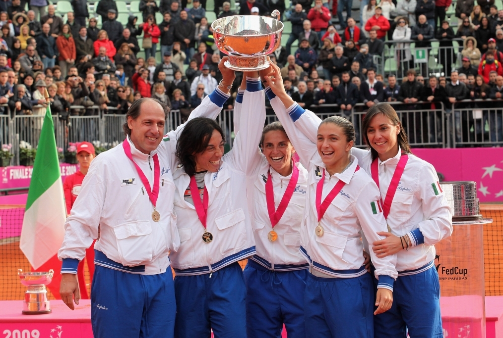 Italy v USA - Fed Cup World Group Final