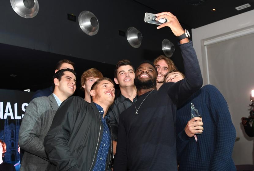 Next Gen ATP Finals 2018 - selfie partec