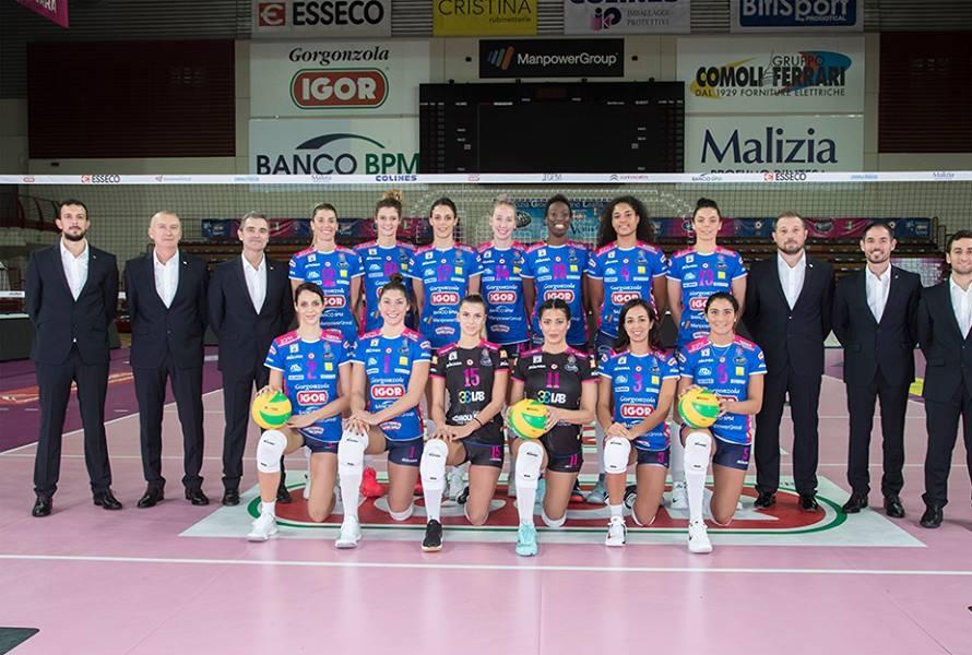 La squadra di Novara