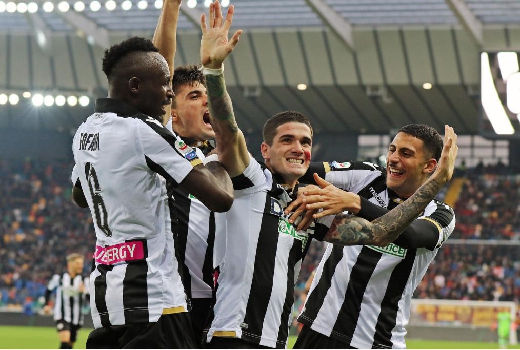 Udinese-Roma 1-0