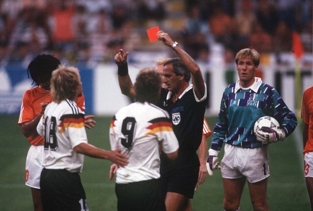 FUSSBALL WM 1990 GER - HOL