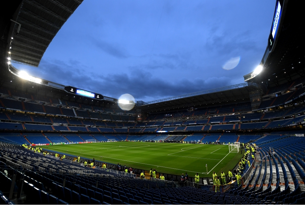 Real Madrid v Tottenham Hotspur - UEFA C