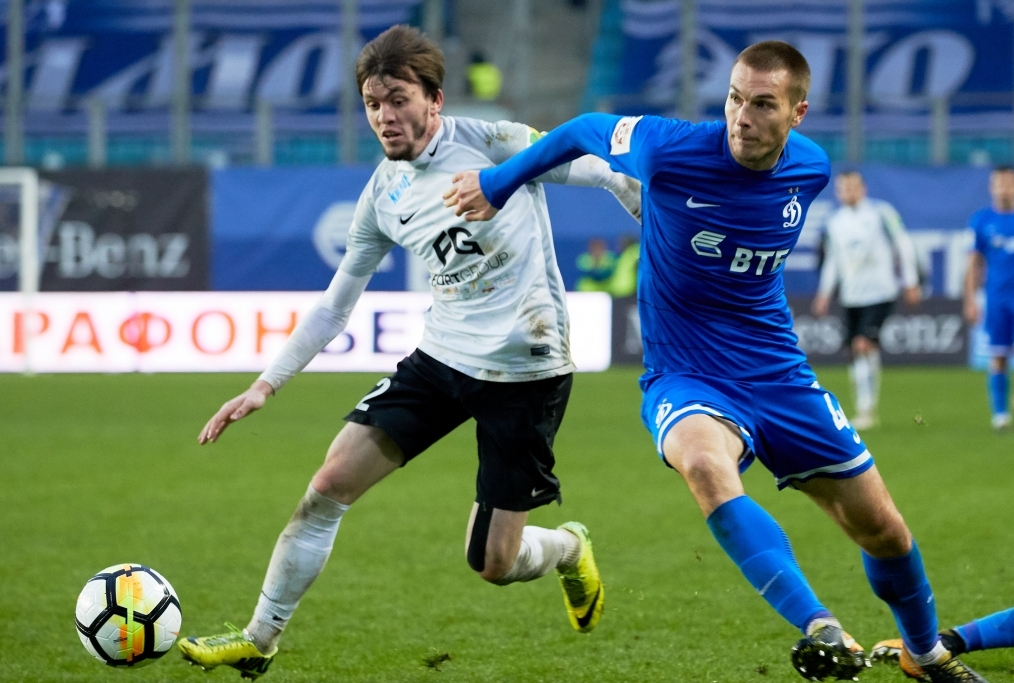 FC Dinamo Moscow vs FC Tosno Saint Peter