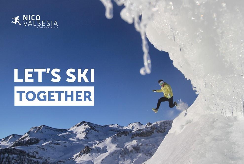 lets ski together