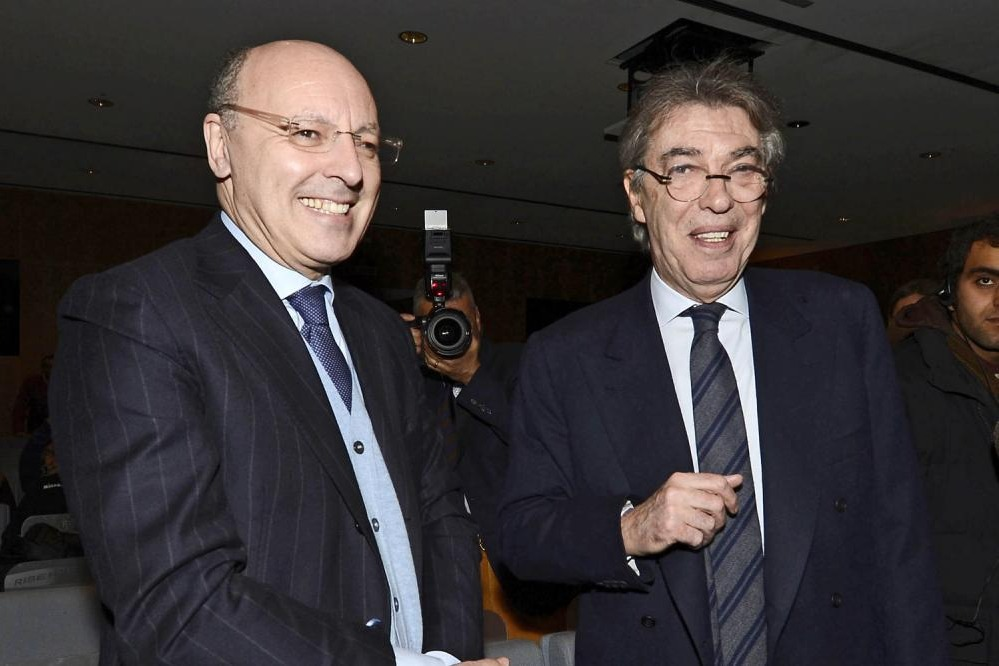 Marotta e Moratti