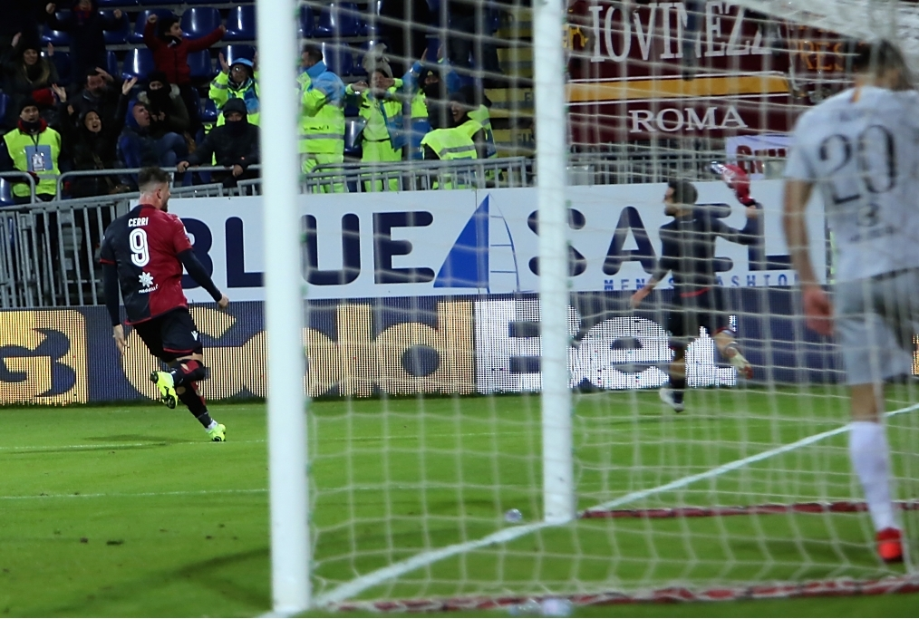 Cagliari v AS Roma - Serie A