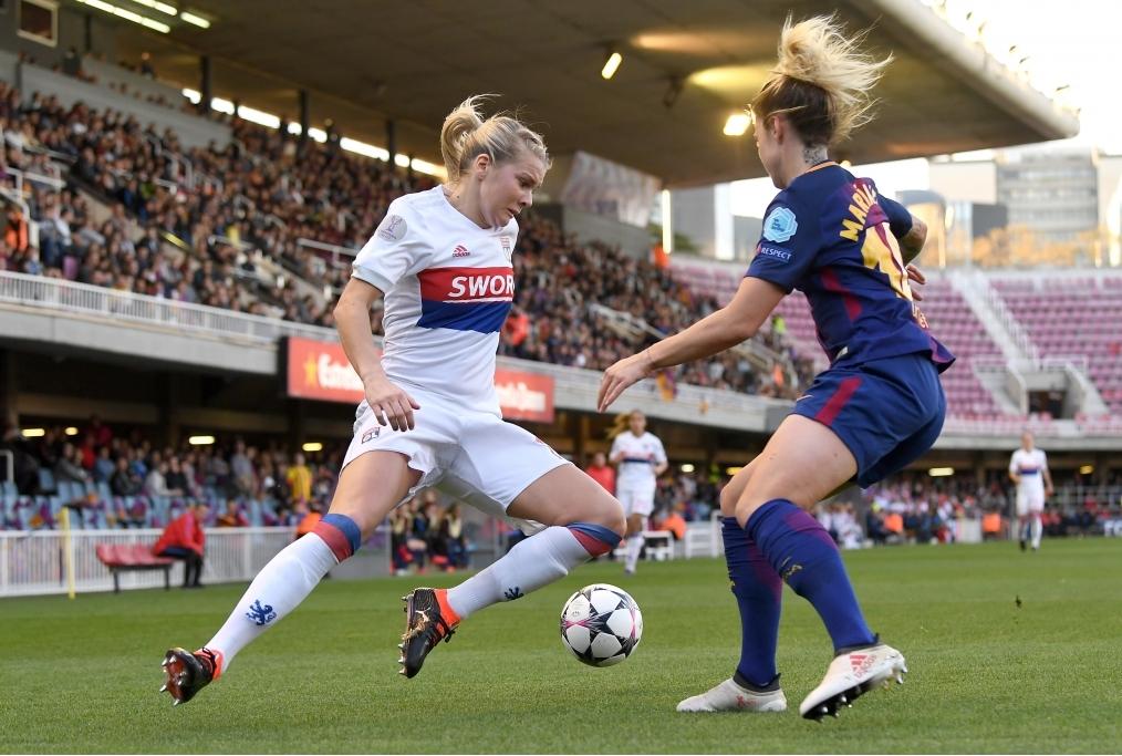FC Barcelona Women v Olympique Lyon Wome