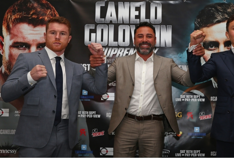 Boxing Press Conference with Canelo Alva